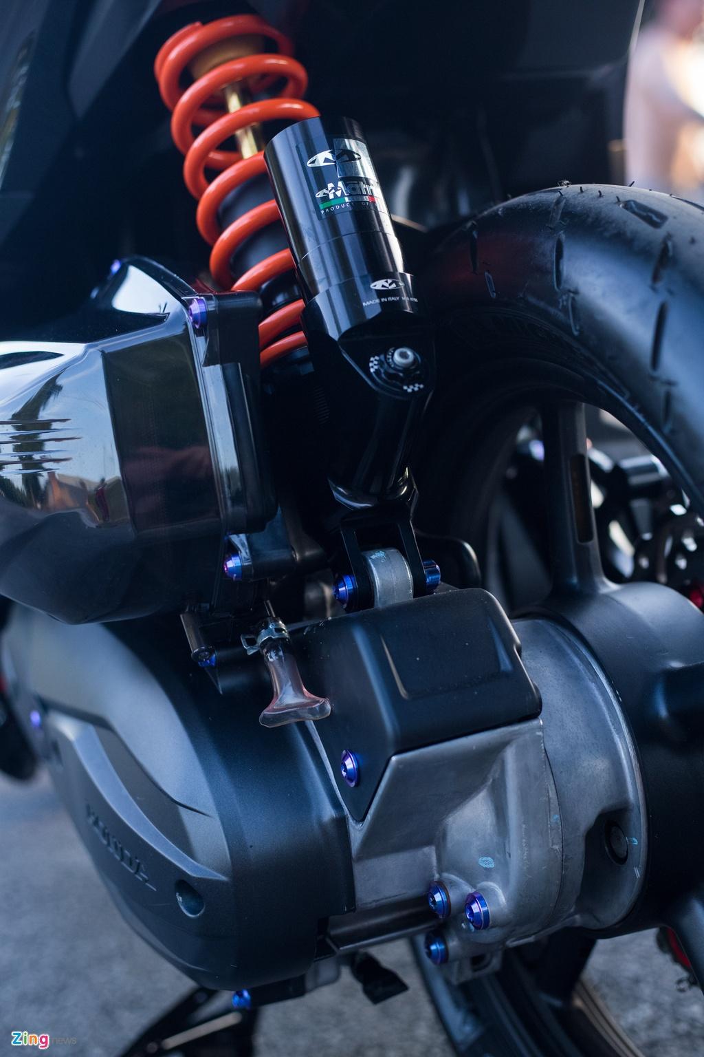 Chu xe Honda Vario 150 chi 250 trieu do do choi tai Dong Nai hinh anh 9