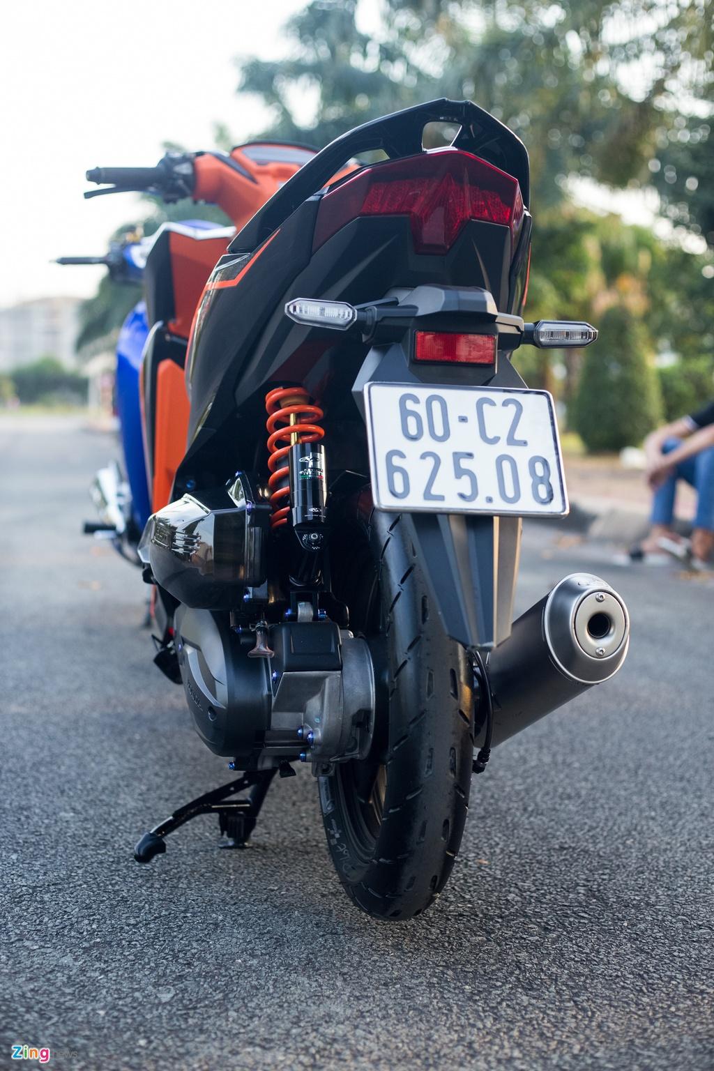 Chu xe Honda Vario 150 chi 250 trieu do do choi tai Dong Nai hinh anh 2