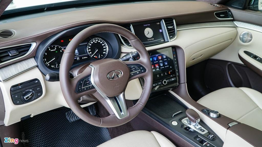Chi tiet Infiniti QX50 gia 2,45 ty dong, canh tranh Mercedes GLC hinh anh 8 InfinitiQX50_zing_(26).jpg
