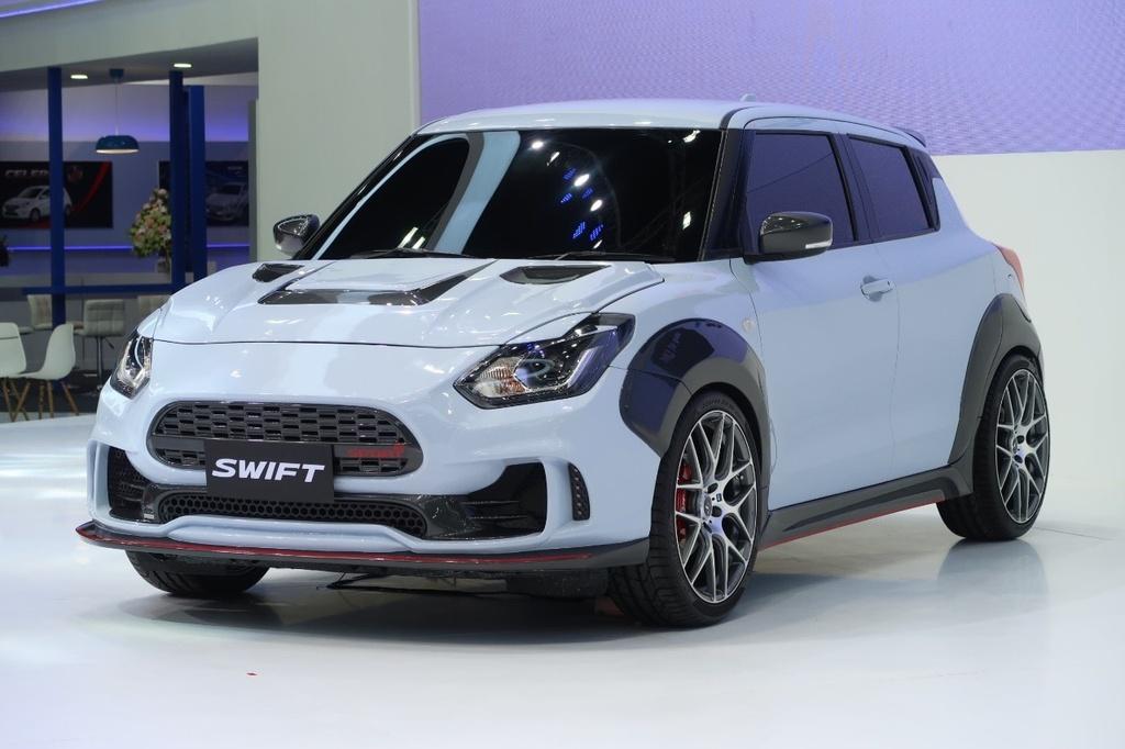Suzuki Swift ban the thao ra mat, ngoai hinh ham ho hon hinh anh 1 Suzuki-Swift-Extreme-5.jpg