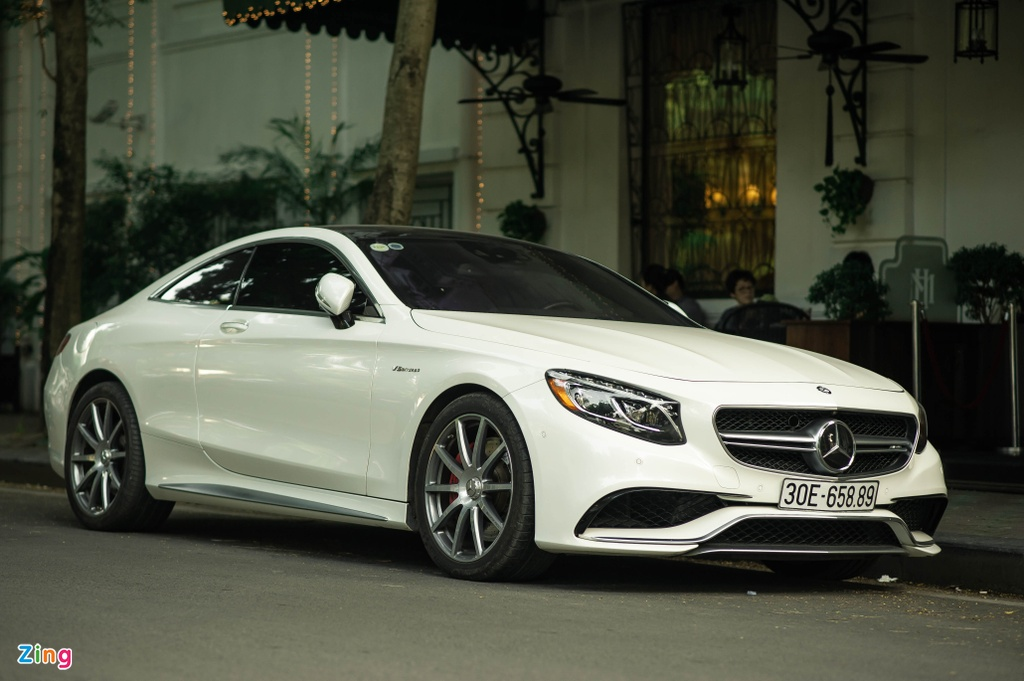 Mercedes S 63 Coupe AMG doc nhat Viet Nam anh 1