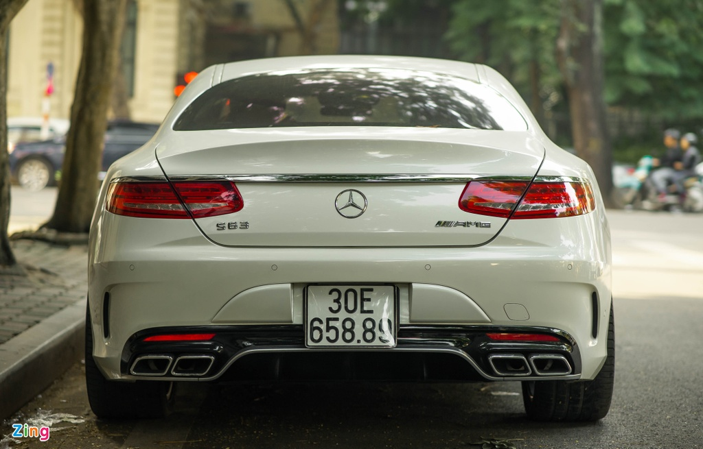 Mercedes S 63 Coupe AMG doc nhat Viet Nam anh 5
