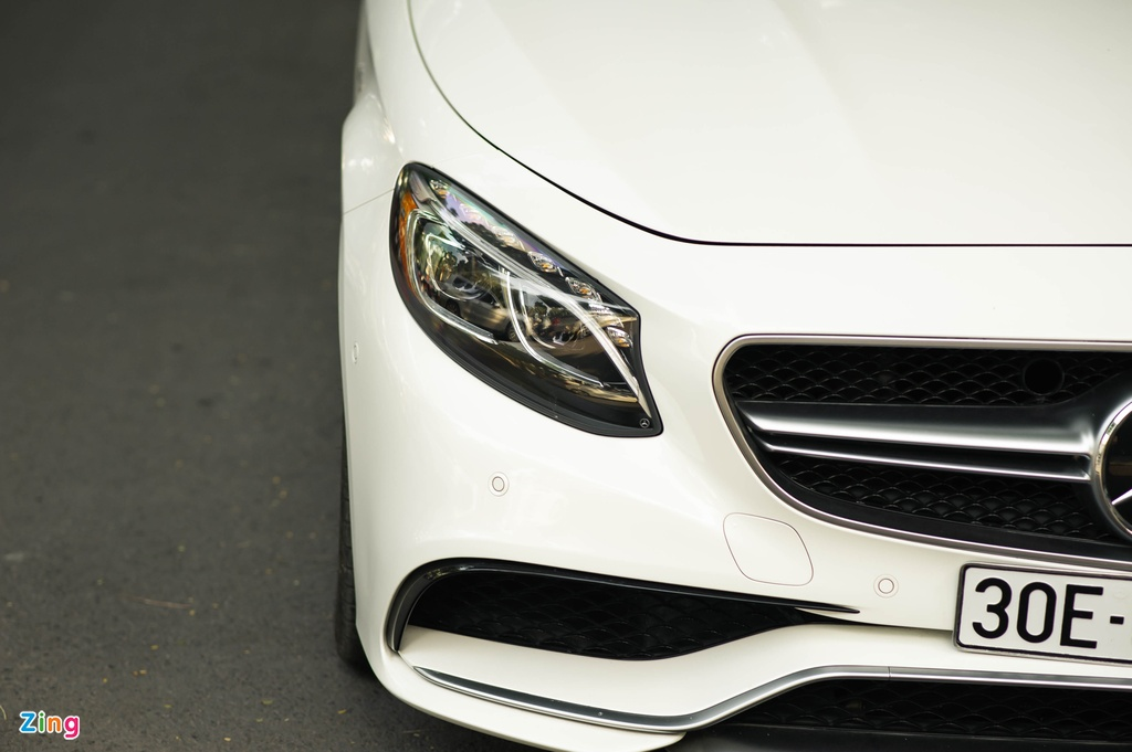 Mercedes S 63 Coupe AMG doc nhat Viet Nam anh 9