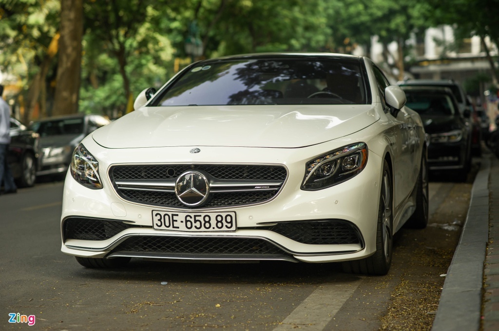 Mercedes S 63 Coupe AMG doc nhat Viet Nam anh 4
