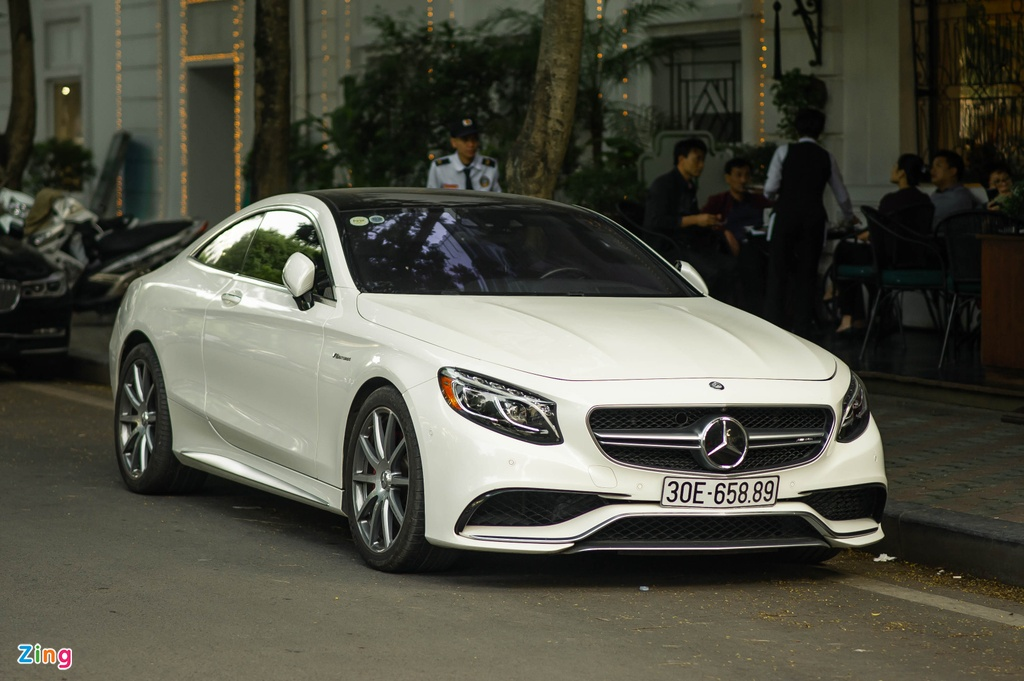 Mercedes S 63 Coupe AMG doc nhat Viet Nam anh 11