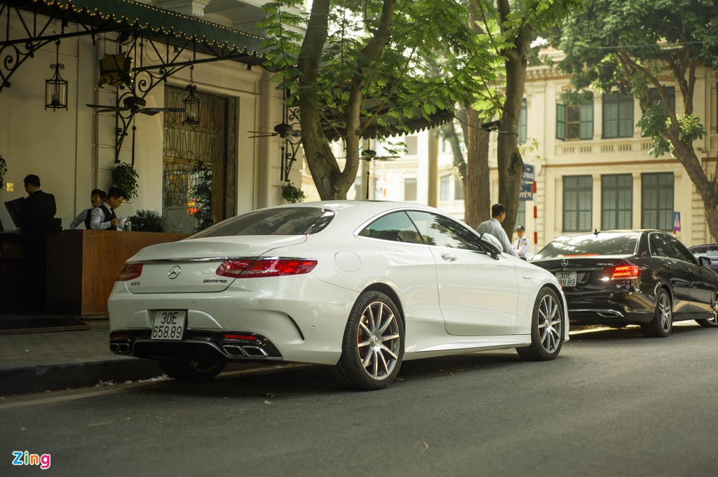 Mercedes S 63 Coupe AMG doc nhat Viet Nam anh 3