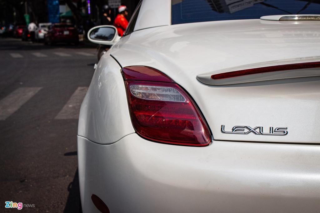 Dan choi bien xe mui tran doi cu Lexus SC430 thanh LC500h tai TP.HCM hinh anh 6 Lexus_SC430_13_zing.jpg