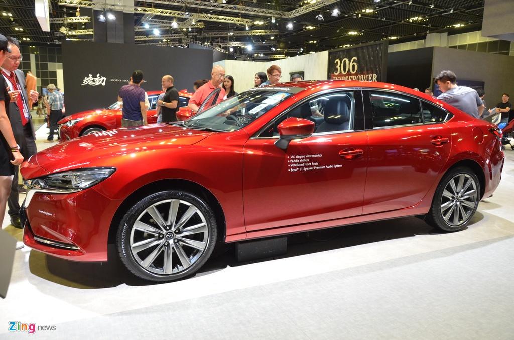 Can canh Mazda6 2020 - thiet ke nang cap nhe, nhieu kha nang ve VN hinh anh 12 DSC_2404_zing.JPG