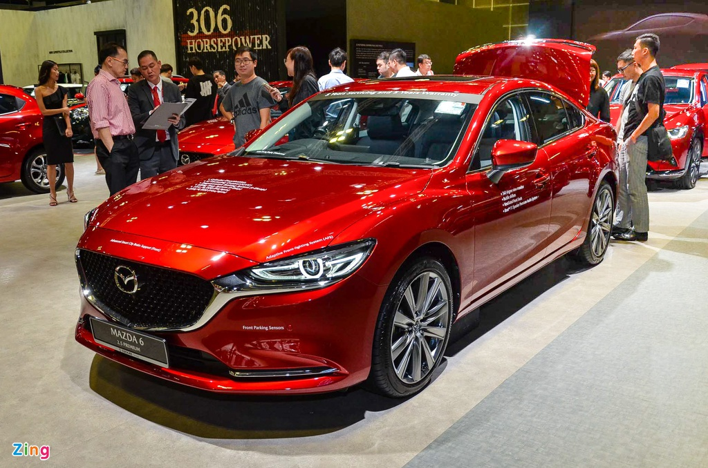 Can canh Mazda6 2020 - thiet ke nang cap nhe, nhieu kha nang ve VN hinh anh 1 Mazda6_2020_16_zing.jpg