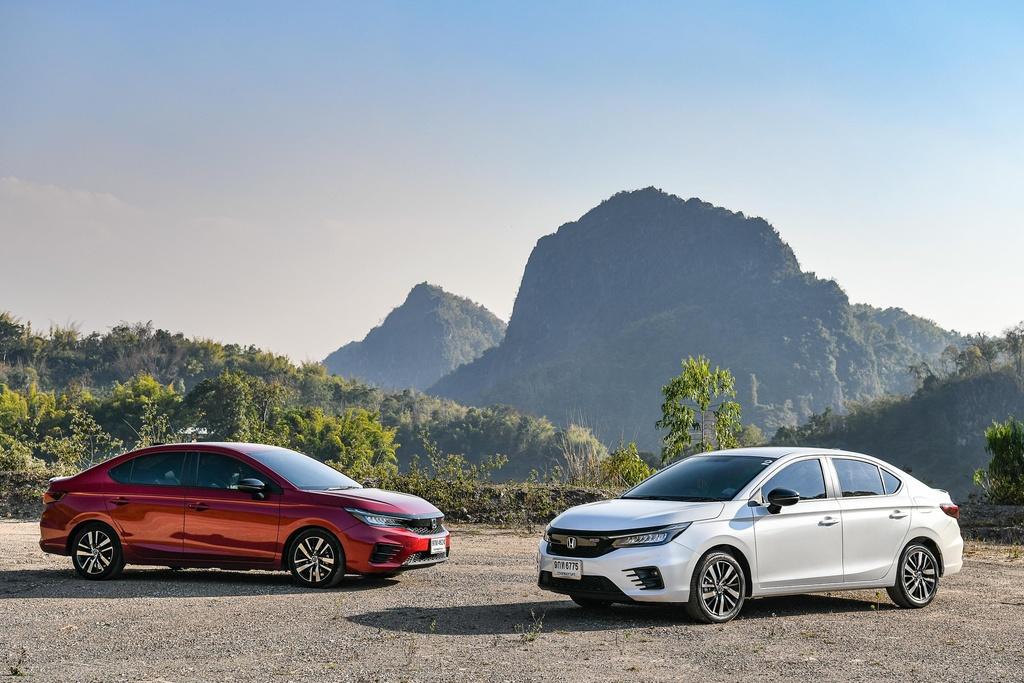 Honda City 1.0L Turbo RS - chiec Civic thu nho voi dong co tang ap hinh anh 1 2020_Honda_City_in_Thailand_7.jpg