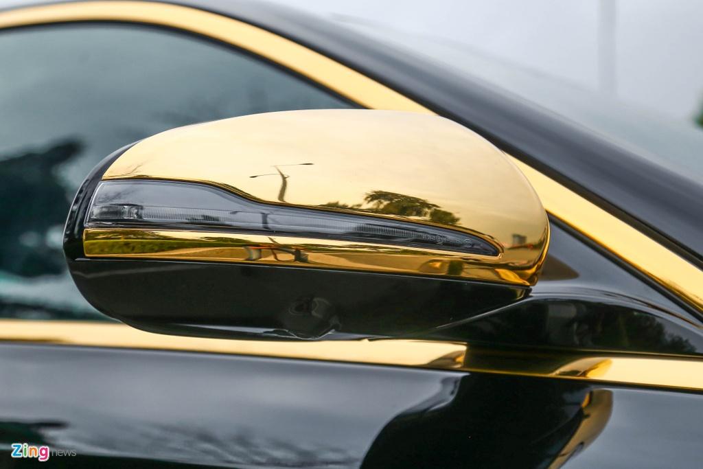Mercedes-Benz E 300 AMG ma vang dinh kim cuong anh 9
