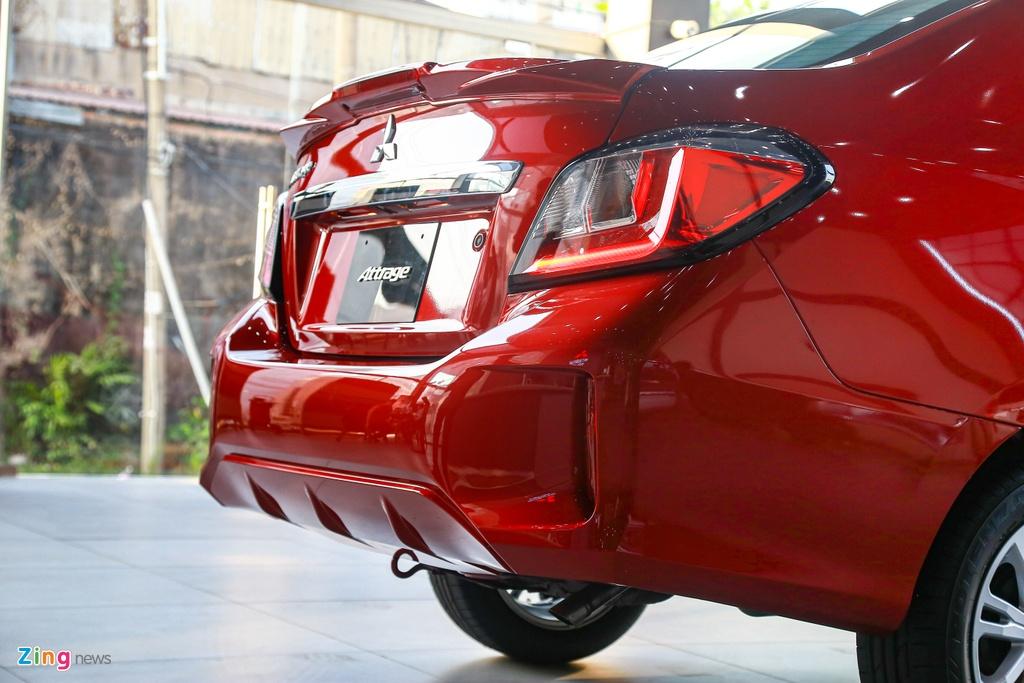 Mitsubishi Attrage 2020 ra mat tai VN, gia tu 375 trieu hinh anh 11 Attrage2020_zing_10_.jpg