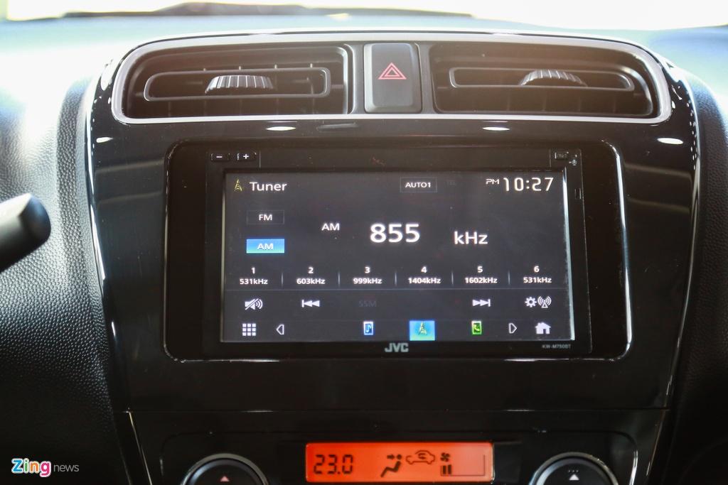 Mitsubishi Attrage 2020 ra mat tai VN, gia tu 375 trieu hinh anh 15 Attrage2020_zing_21_.jpg