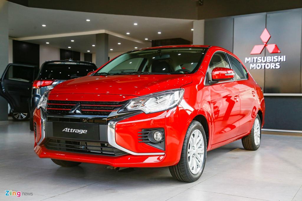 Mitsubishi Attrage 2020 ra mat tai VN, gia tu 375 trieu hinh anh 1 Attrage2020_zing_2_.jpg