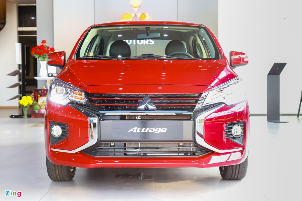 Mitsubishi Attrage 2020 ra mat tai VN, gia tu 375 trieu hinh anh 2 Attrage2020_zing_30_.jpg