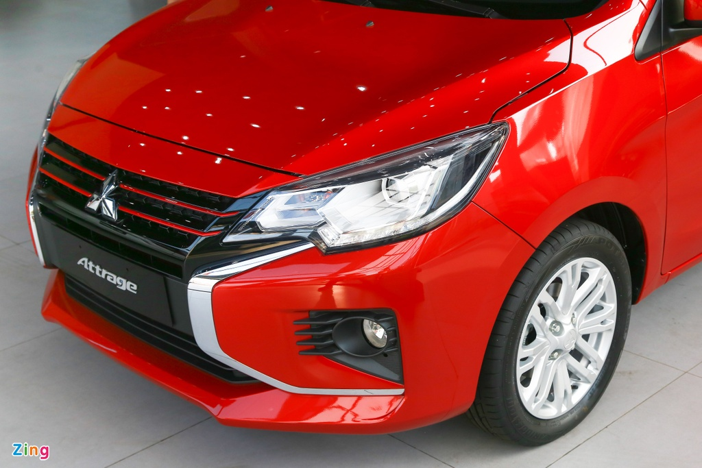 Mitsubishi Attrage 2020 ra mat tai VN, gia tu 375 trieu hinh anh 4 Attrage2020_zing_4_.jpg