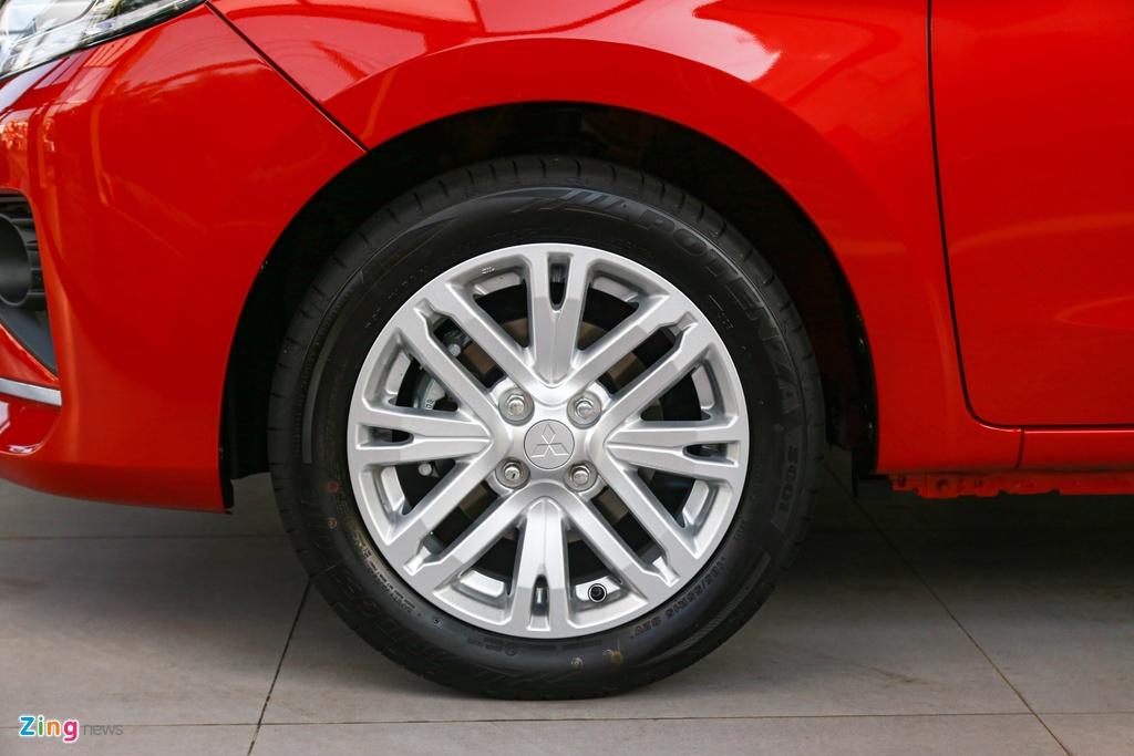 Mitsubishi Attrage 2020 ra mat tai VN, gia tu 375 trieu hinh anh 6 Attrage2020_zing_5_.jpg