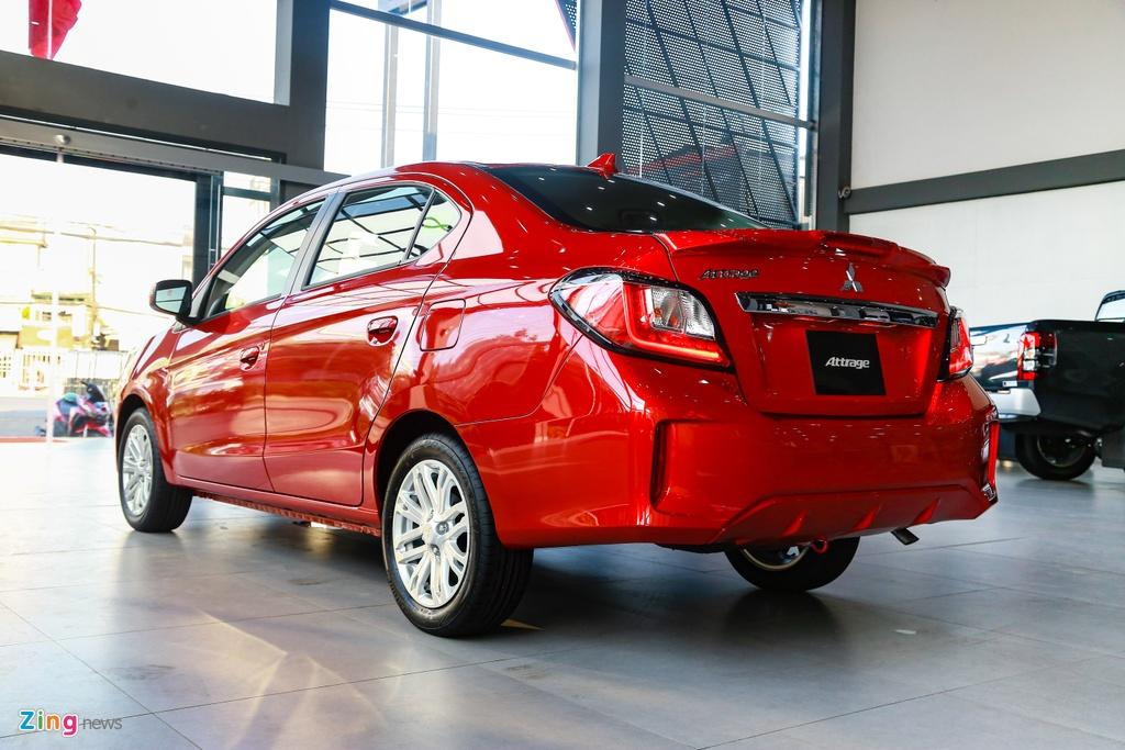 Mitsubishi Attrage 2020 ra mat tai VN, gia tu 375 trieu hinh anh 9 Attrage2020_zing_7_.jpg