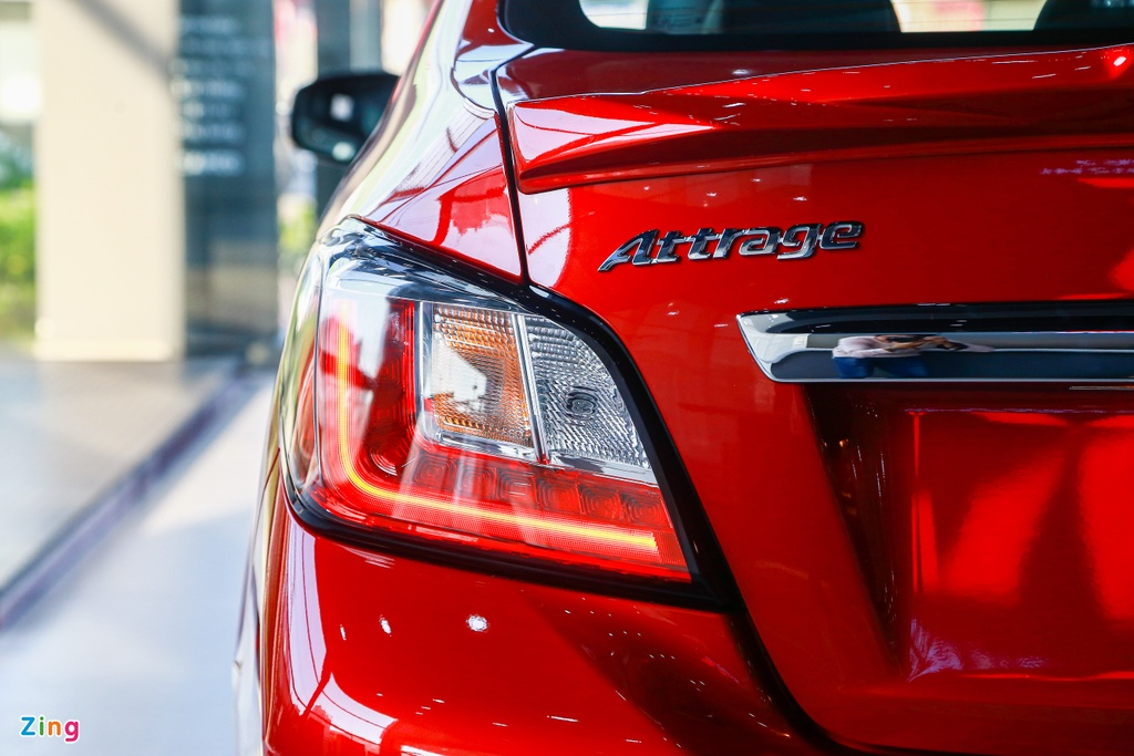 Mitsubishi Attrage 2020 ra mat tai VN, gia tu 375 trieu hinh anh 10 Attrage2020_zing_9_.jpg