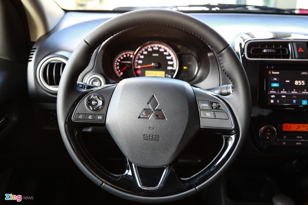 Mitsubishi Attrage va Kia Soluto - cuoc chien xe hang B gia re o VN hinh anh 12 Attrage2020_zing_19_.jpg