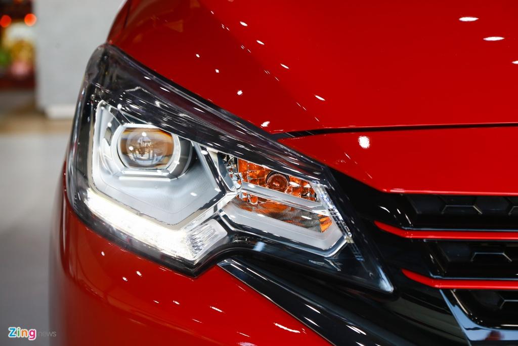 Mitsubishi Attrage va Kia Soluto - cuoc chien xe hang B gia re o VN hinh anh 3 Attrage2020_zing_3_.jpg