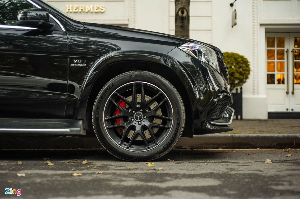 Ngam Mercedes-AMG GLS 63 4MATIC gia 12 ty tren pho HN anh 5