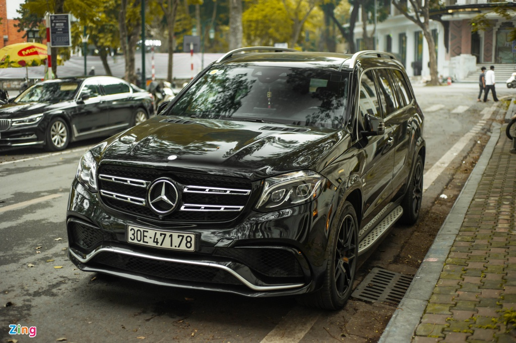 Ngam Mercedes-AMG GLS 63 4MATIC gia 12 ty tren pho HN anh 2