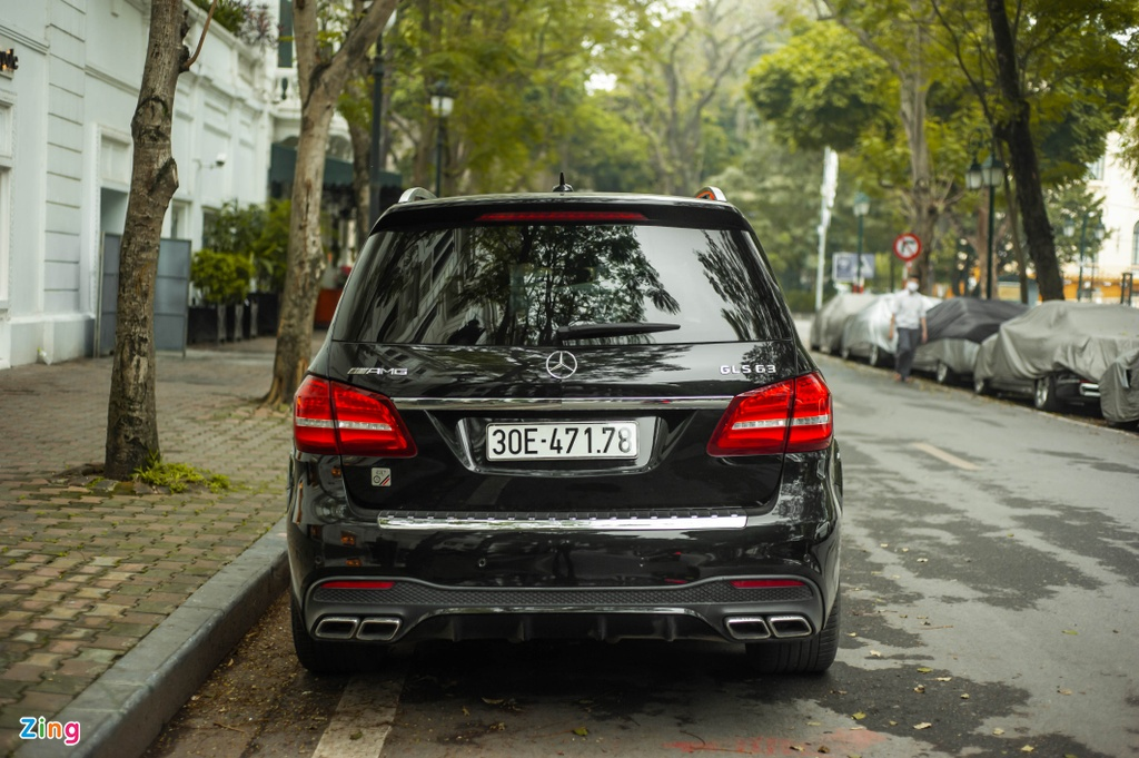 Ngam Mercedes-AMG GLS 63 4MATIC gia 12 ty tren pho HN anh 7