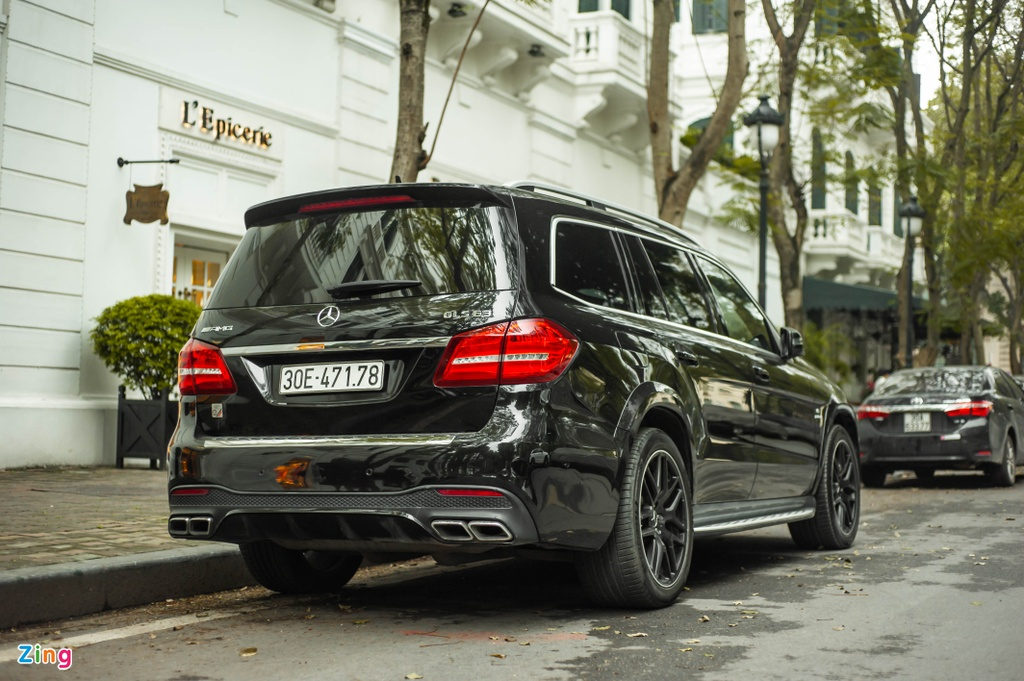 Ngam Mercedes-AMG GLS 63 4MATIC gia 12 ty tren pho HN anh 3