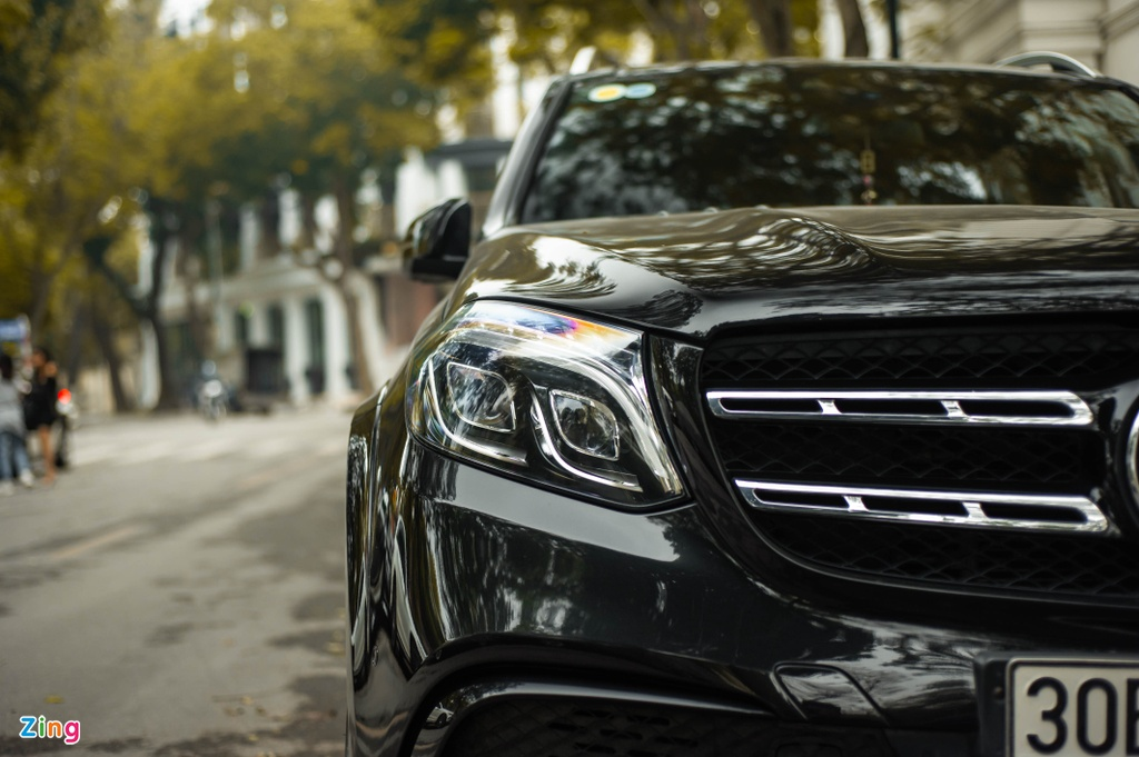Ngam Mercedes-AMG GLS 63 4MATIC gia 12 ty tren pho HN anh 9