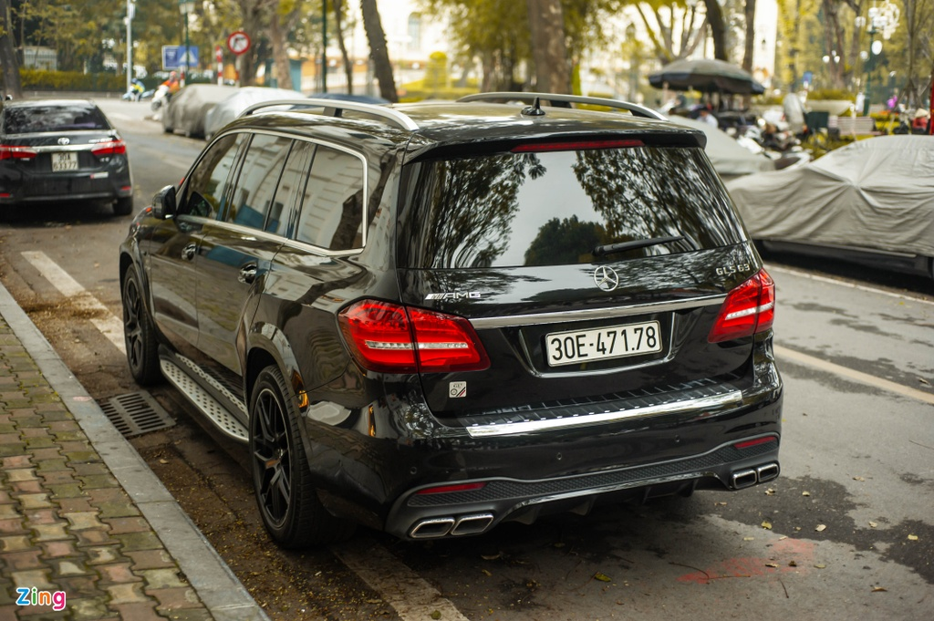 Ngam Mercedes-AMG GLS 63 4MATIC gia 12 ty tren pho HN anh 11