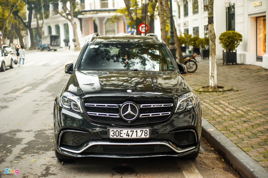 Ngam Mercedes-AMG GLS 63 4MATIC gia 12 ty tren pho HN anh 10