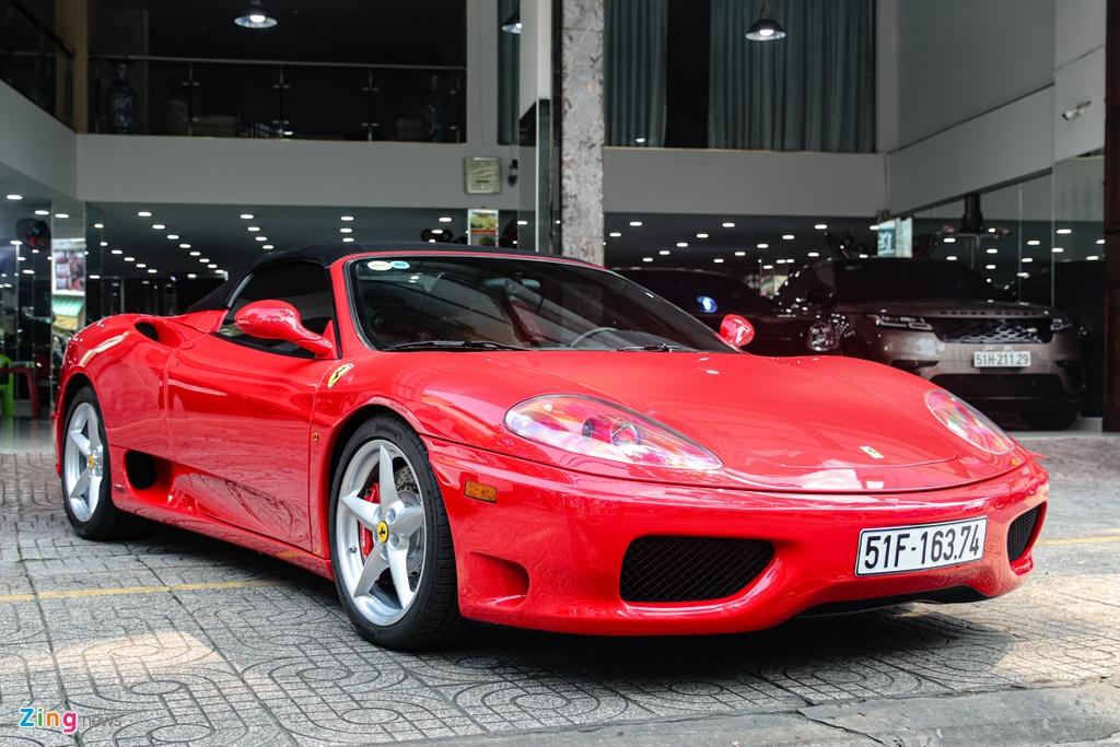 Ferrari 360 Spider tung cua ong Dang Le Nguyen Vu tai xuat tai TP.HCM hinh anh 11 Ferrari_360_Spider_zing_16_.jpg