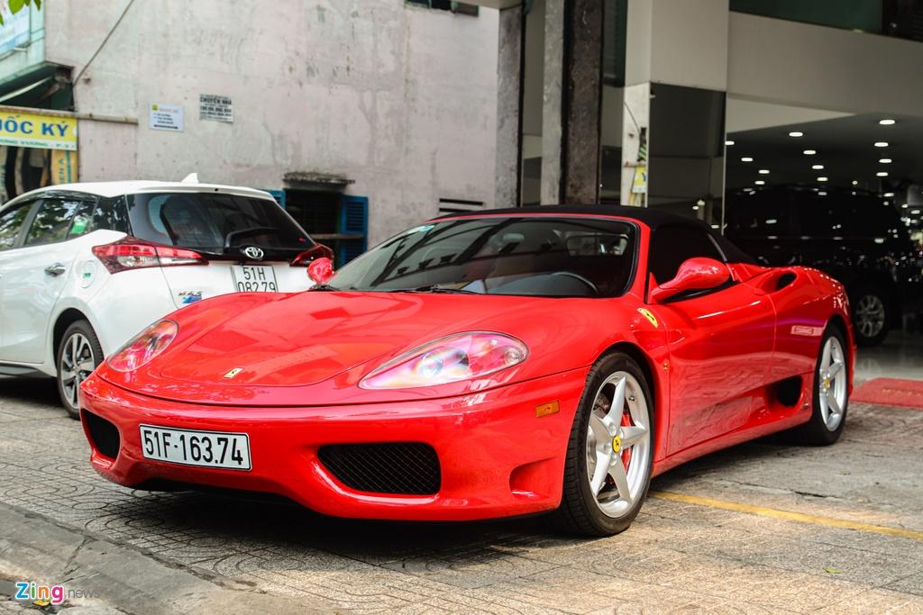 Ferrari 360 Spider tung cua ong Dang Le Nguyen Vu tai xuat tai TP.HCM hinh anh 1 Ferrari_360_Spider_zing_17_.jpg
