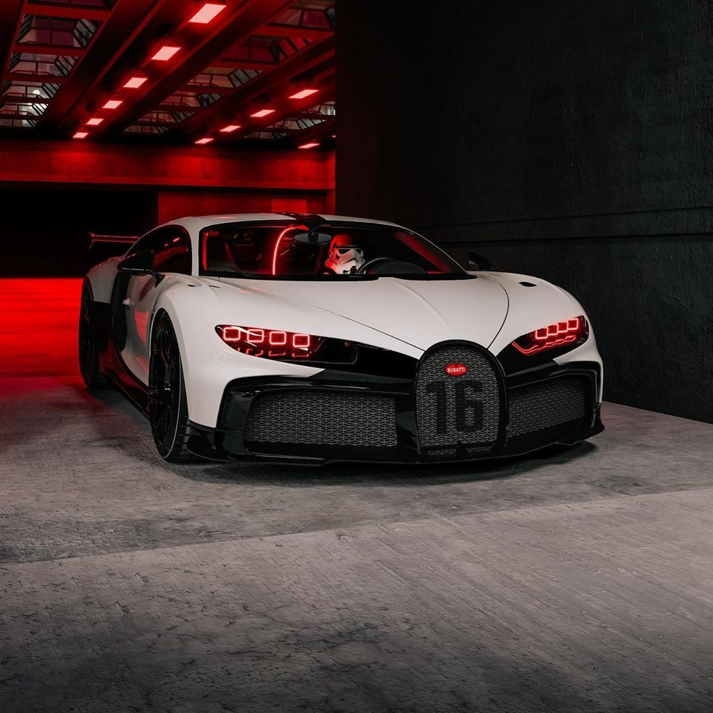 Bugatti Chiron Pur Sport phong cach Star War anh 1