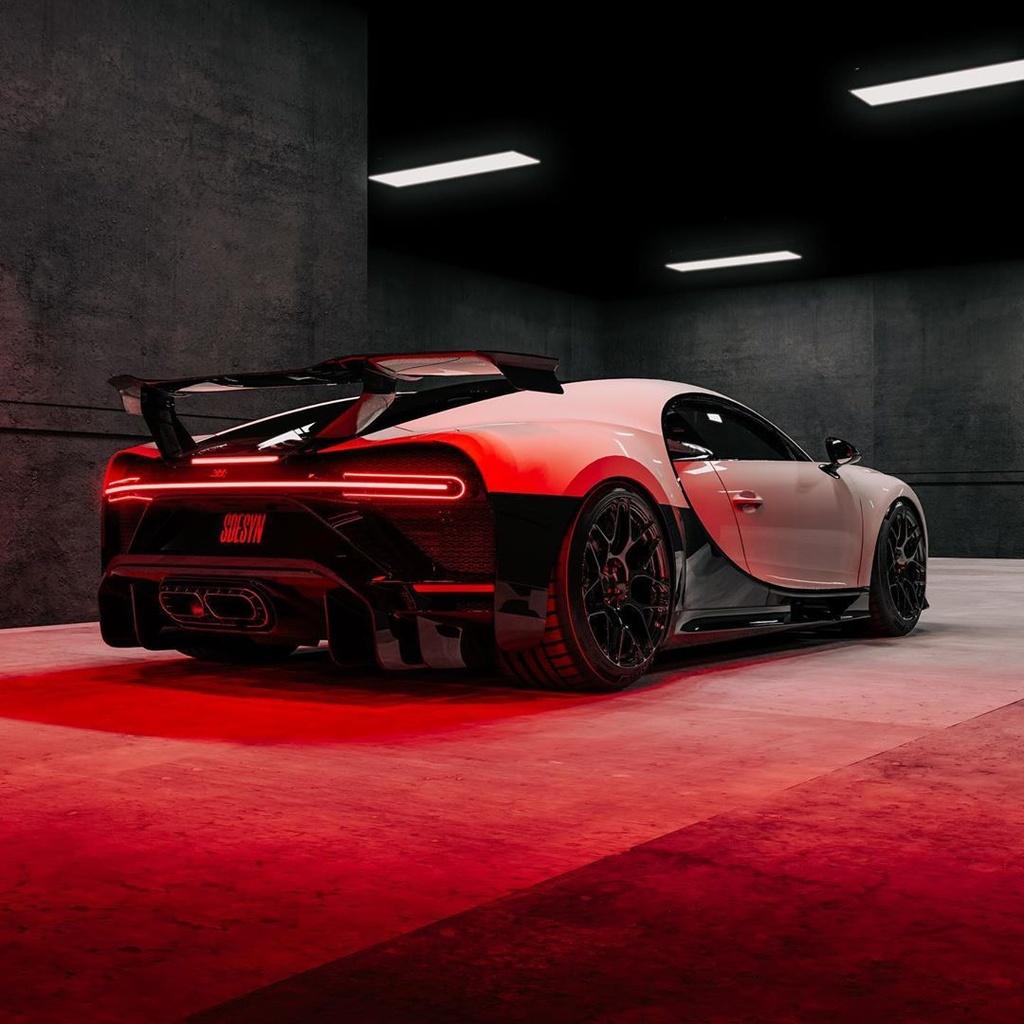 Bugatti Chiron Pur Sport phong cach Star War anh 4