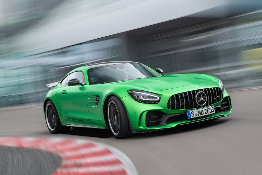 Mercedes ra mat 3 xe the thao anh 1
