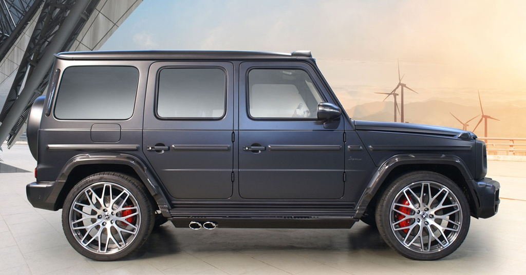 Chi tiet Mercedes-Benz G-Class 6 cho ngoi anh 6