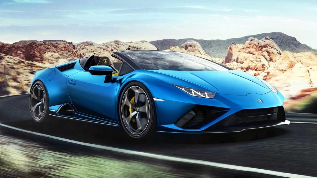 Lamborghini Huracan Evo RWD Spyder ra mat anh 1