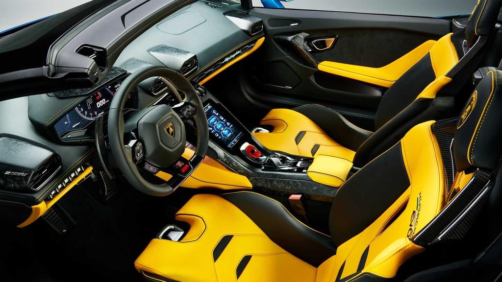 Lamborghini Huracan Evo RWD Spyder ra mat anh 9