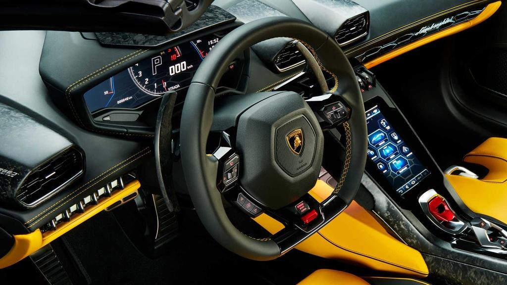 Lamborghini Huracan Evo RWD Spyder ra mat anh 10