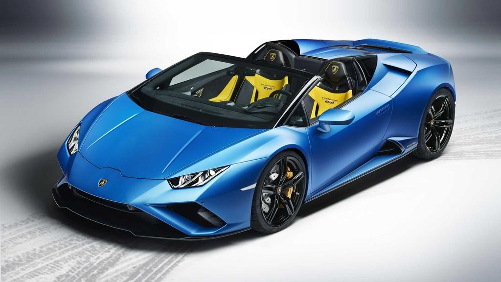 Lamborghini Huracan Evo RWD Spyder ra mat anh 4