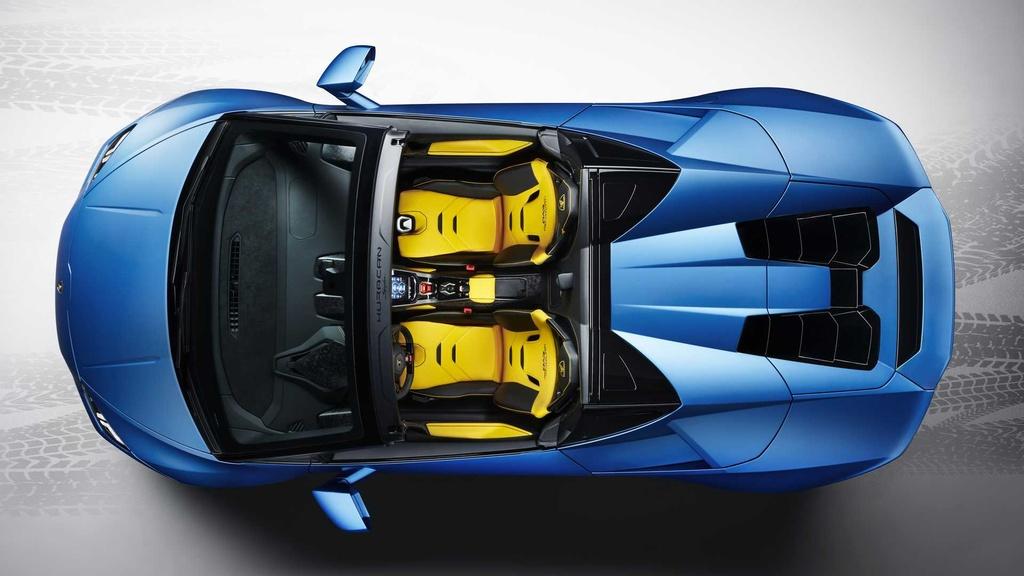 Lamborghini Huracan Evo RWD Spyder ra mat anh 12