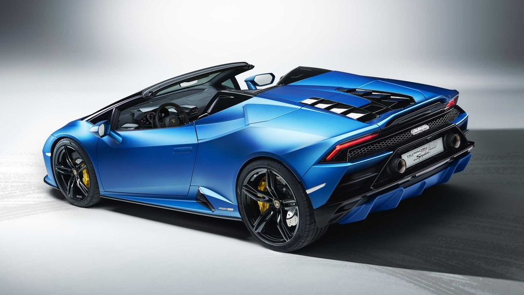 Lamborghini Huracan Evo RWD Spyder ra mat anh 13