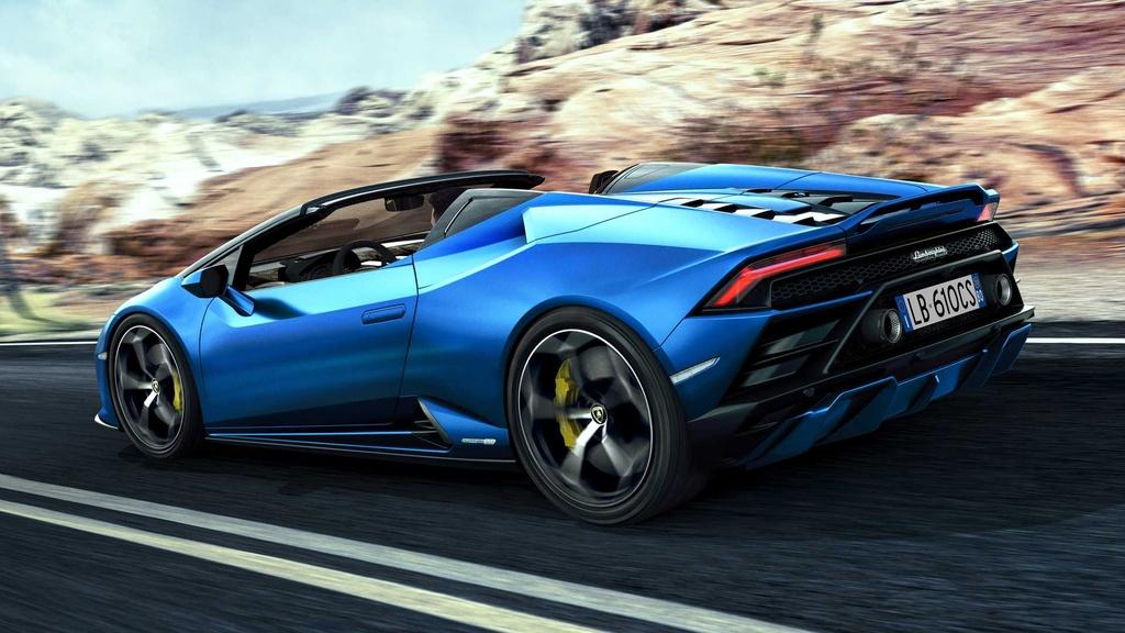 Lamborghini Huracan Evo RWD Spyder ra mat anh 2