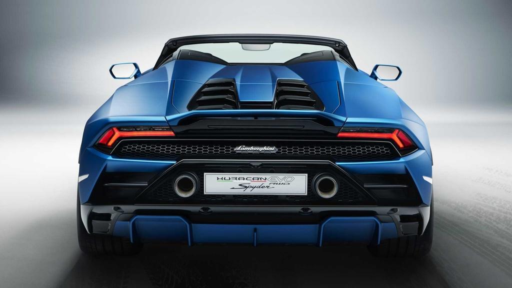 Lamborghini Huracan Evo RWD Spyder ra mat anh 3