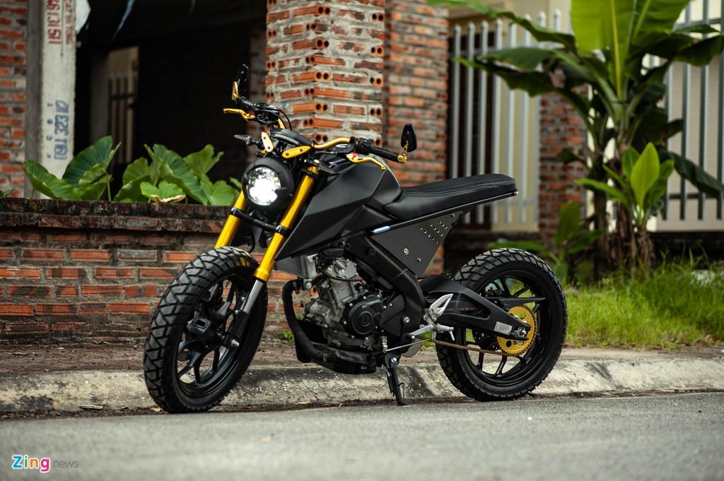 Yamaha TFX 150 lot xac hoan toan theo phong cach cafe racer tai Ha Noi hinh anh 3 TFX_do_zing_29_.jpg