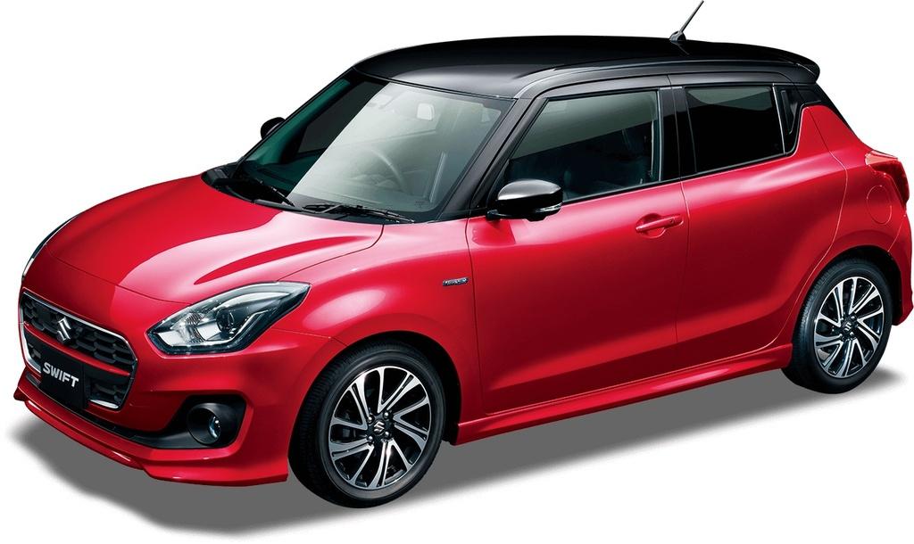 Suzuki Swift facelift 2020 co lay chuyen so, camera 360 do hinh anh 7 2020_Suzuki_Swift_facelift_1.jpg