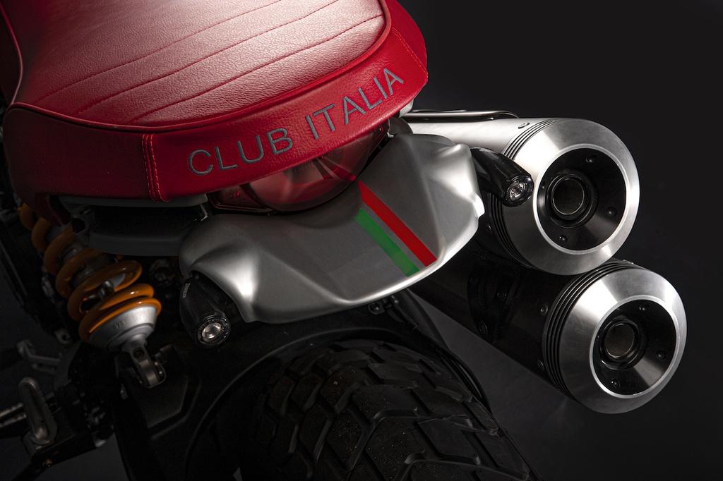 Mau xe doc quyen Ducati Scrambler Club Italia anh 8