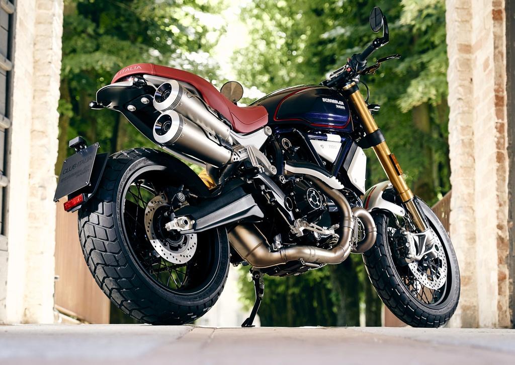 Mau xe doc quyen Ducati Scrambler Club Italia anh 2